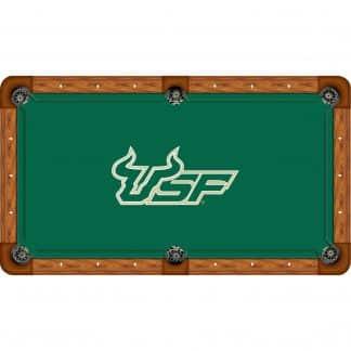 South Florida Bulls Billiard Table Cloth   moneymachines.com