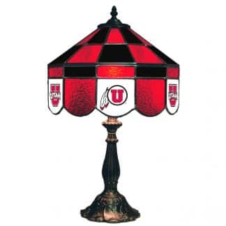 Utah Utes Stained Glass Table Lamp | moneymachines.com
