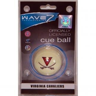 Virginia Cavaliers Billiard Cue Ball | moneymachines.com