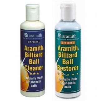 Aramith Billiard Ball Cleaner and Restorer Combo - TPABC | TPABR | moneymachines.com