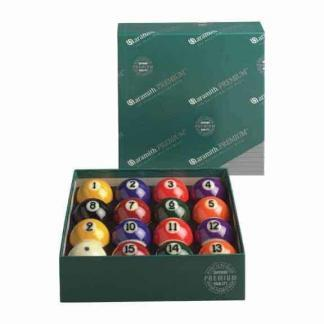 "Aramith Premium Belgian 2 1/4"" Pool Ball Set | moneymachines.com"