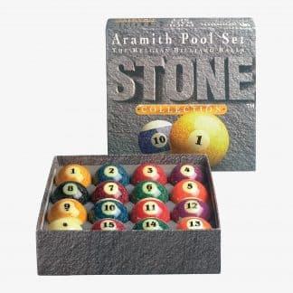 Aramith Stone Collection Ball Set | moneymachines.com