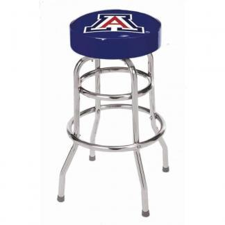 Arizona Wildcats College Logo Double Rung Bar Stool | moneymachines.com