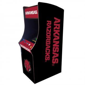 Arkansas Razorbacks Arcade Multi-Game Machine | moneymachines.com