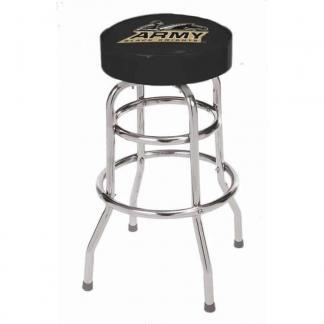 Army Black Knights College Logo Double Rung Bar Stool | moneymachines.com