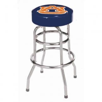 Auburn Tigers College Logo Double Rung Bar Stool | moneymachines.com