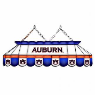 "Auburn Tigers MVP 40"" Tiffany Stained Glass Pool Table Lamp 