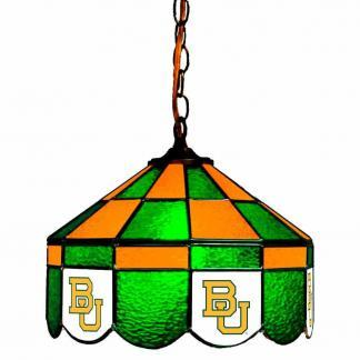 Baylor Bears Stained Glass Swag Hanging Lamp | moneymachines.com