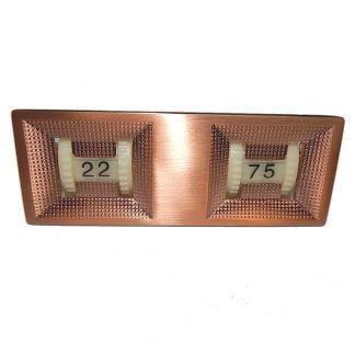 Billiard Pool Table Copper Bronze Finished Twin Digital Scoring Unit | moneymachines.com