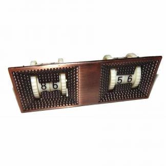 Billiard Pool Table Antique Brass Finished Twin Digital Scoring Unit | moneymachines.com