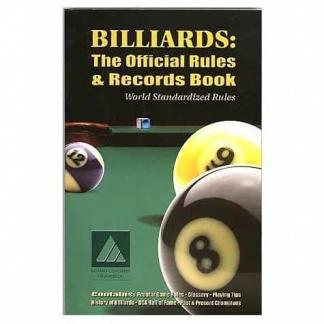 Billiards: The Official Rules & Records Pool Book | moneymachines.com