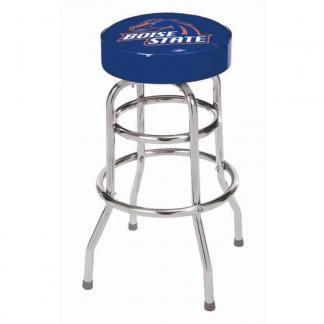 Boise State Broncos College Logo Double Rung Bar Stool | moneymachines.com