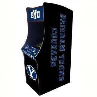 Brigham Young Cougars Arcade Multi-Game Machine | moneymachines.com