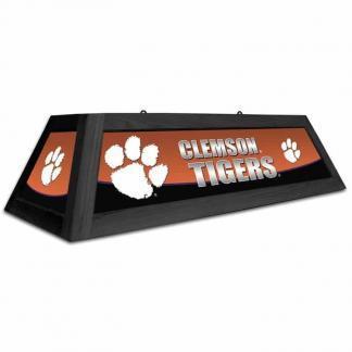 Clemson Tigers Spirit Game Table Lamp   moneymachines.com
