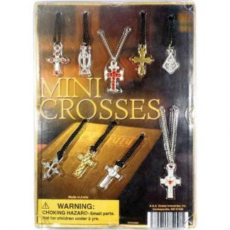 Cross Necklaces Collection Display Front | moneymachines.com