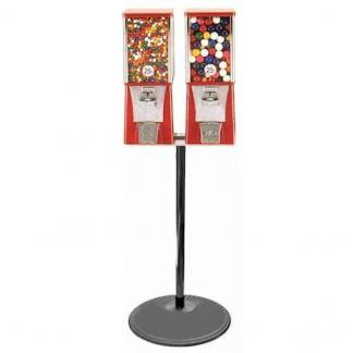 Double Eagle Cabinet Vending Machines on Black Pipe Stand | moneymachines.com