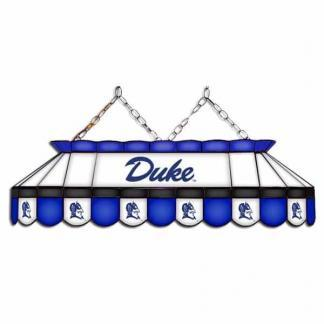 "Duke Blue Devils MVP 40"" Tiffany Stained Glass Pool Table Lamp 