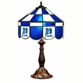 Duke Blue Devils Stained Glass Table Lamp | moneymachines.com