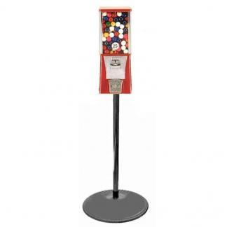 Eagle Cabinet Vending Machine on Black Pipe Stand Combo | moneymachines.com