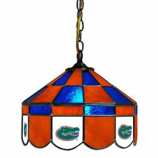 Florida Gators Stained Glass Swag Hanging Lamp | moneymachines.com