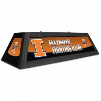 Illinois Fighting Illini Spirit Game Table Lamp | moneymachines.com