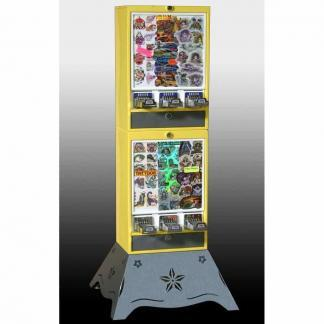Impulse 6 Column Sticker Tattoo Vending Machine   moneymachines.com