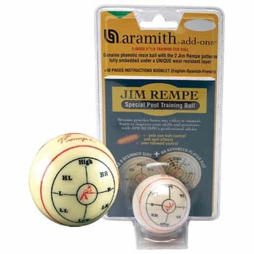 Jim Rempe Special Training Cue Ball | moneymachines.com