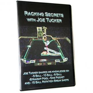 Joe Tucker Racking Secrets DVD | moneymachines.com