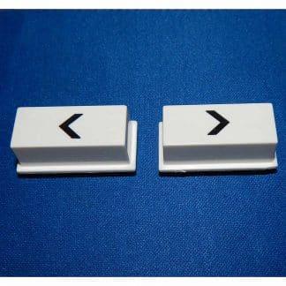 New Rowe/AMI Jukebox Left/Right Arrow Selection Push Button Set - 21949701 | moneymachines.com