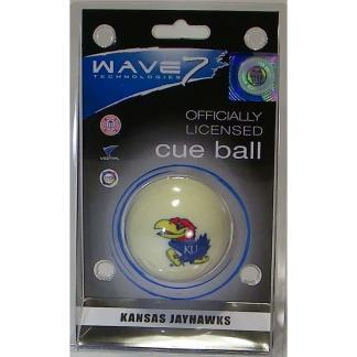Kansas Jayhawks Billiard Cue Ball | moneymachines.com