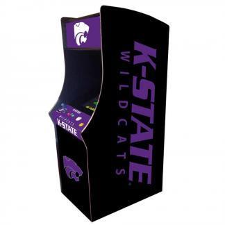 Kansas State Wildcats Arcade Multi-Game Machine | moneymachines.com