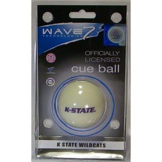 Kansas State Wildcats Billiard Cue Ball | moneymachines.com