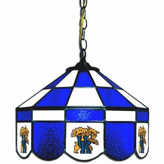 Kentucky Wildcats Stained Glass Swag Hanging Lamp | moneymachines.com
