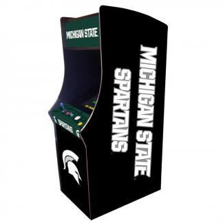 Michigan State Spartans Arcade Multi-Game Machine | moneymachines.com