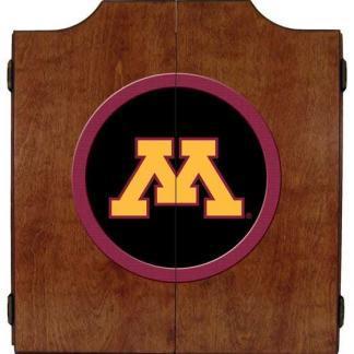 Minnesota Golden Gophers College Logo Dart Cabinet | moneymachines.com