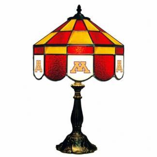 Minnesota Golden Gophers Stained Glass Table Lamp | moneymachines.com