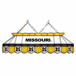 "Mizzou Tigers MVP 40"" Tiffany Stained Glass Pool Table Lamp   moneymachines.com"