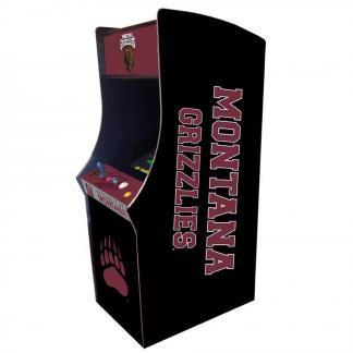 Montana Grizzlies Arcade Multi-Game Machine   moneymachines.com