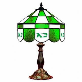 North Dakota Fighting Hawks Stained Glass Table Lamp | moneymachines.com