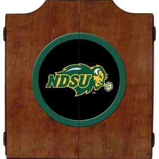North Dakota State Bison College Logo Dart Cabinet | moneymachines.com