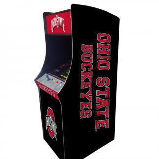 Ohio State Buckeyes Arcade Multi-Game Machine | moneymachines.com