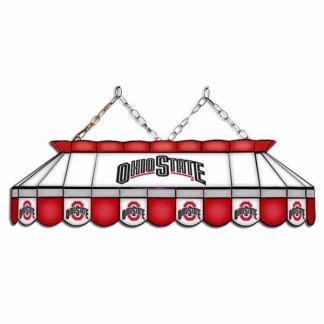 "Ohio State Buckeyes MVP 40"" Tiffany Stained Glass Pool Table Lamp | moneymachines.com"