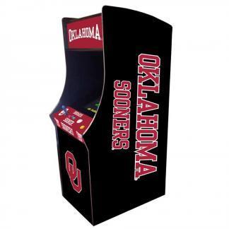 Oklahoma Sooners Arcade Multi-Game Machine | moneymachines.com