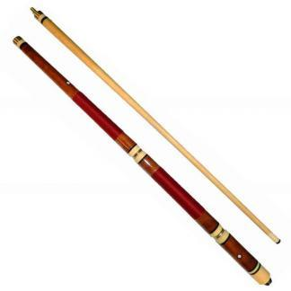 our Piece Adjustable Weight and Length Pool Cue | moneymachines.com