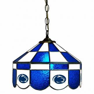 Penn State Nittany Lions Stained Glass Swag Hanging Lamp | moneymachines.com