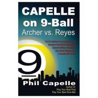 Phil Capelle On 9 Ball Book and DVD   moneymachines.com