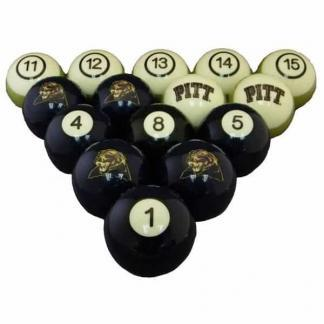 Pittsburgh Panthers Billiard Ball Set | moneymachines.com