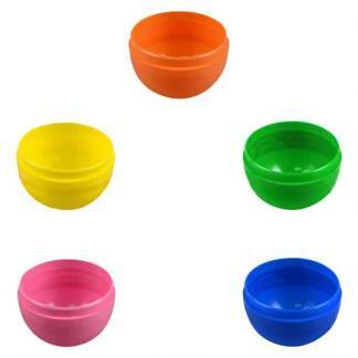 Plastic Egg Capsules - Male Half - 2000 Count Case | moneymachines.com