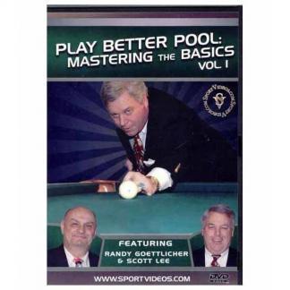 Play Better Pool DVD Volume 1 | moneymachines.com