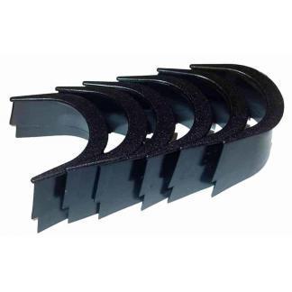Pool Table Black Pocket Liners - Set of 6 | moneymachines.com